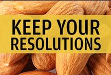 Keep Your New Year's Resolutions All Year! / Maintain a healthy lifestyle all year long with diet ideas, workouts, and other tips and tricks to stay on track in 2015!