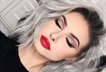 Nails, make-up and hair