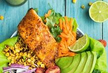 Thrifty Healthy Recipes / As the gate keeper of food around my house I'm looking to serve up my family nutritious meals to keep us all healthy and happy.  This board includes chicken recipes, fish recipes, healthy sides, healthy comfort foods, low calorie meals, low fat meals and much more.