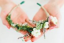 Headbands/ flower crowns / all cute headbands, projects to try