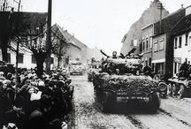 Rhineland World War II - then and now / The Rhineland in 1944/45 and the traces to be found today