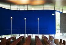 Kapel/Chapel R.K. Begraafplaats St. Laurentius / Kapel/Chapel R.K. Begraafplaats St. Laurentius, Rotterdam by Mecanoo. Pics by @svd_fotografie