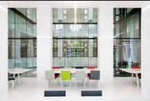 Erasmus University College Rotterdam / Erasmus University College Rotterdam by 'Designed by Erick van Egeraat'. Pics by @svd_fotografie