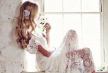 Wedding dresses / From lace to satin, vintage to modern. Dresses to dream over