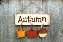 Autumn / The season of fallen leaves, darker mornings and cooler nights