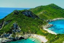 Corfu beaches / Corfu islands beautiful beaches