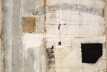Abstract Art Inspirations / Mixed media, abstract, expressionist, collage / painting