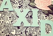 Alpha Xi Delta / by Kayla Hill