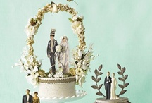 vintage cake toppers...