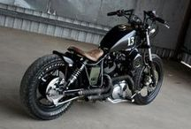 Motorcycle / motorcycle, motorbike, bobber, chopper