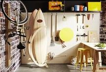 Cactus rack / The freestanding and modular surfboard storage unit designed for the home.