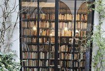 {-librerie-} / Library, Bookshelves, Teche e Biblioteche