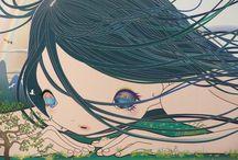 {-street&pop-} / artisti, grafici, graffiti, surrealismo pop, pop surrealism, graffiti art, graphic,