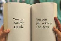 Quotes & Books / inspiring quotes about books and reading.