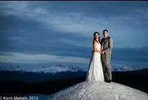 Breckenride Colorado Wedding Pictures / Wedding pictures around Breckenridge, Colorado including Ten Mile Station, One Ski Hill Place, St. Mary's Catholic Church, and Thunder Mountain Lodge. Photography by Kent Meireis