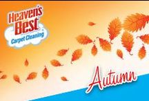 In Love with Autumn / Before you close up your home for winter have Heaven's Best come in and deep your carpets. Call Butch Graf in Sheboygan WI at: 920-467-3239