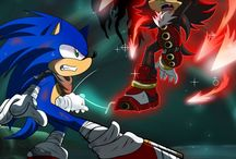 Shadow the hedgehog and sonic / Shadow the hedgehog sonic the hedgehog tails knuckles silver