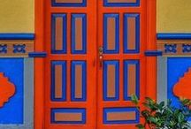 Doors~World Colour / Please FOLLOW me & enjoy 5 pins per this board per day & 5 LIKES please ~ thank you kindly ~ have the best happy healthy day ever! PLEASE pin RESPECTFULLY, its taken me months of my loving energy to create & display this beautiful board.I would appreciate your loving energy back with gratitude in return for my request ~LOVE & LIGHT~ PEACE~ RADIANT ENERGY TO THE WORLD FILLED WITH EVERYONE'S HAPPINESS !!! / by Linka Crosby~Link Reaction