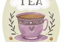 Tea, china and spoons