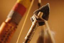 Archerie / Période moyenâgeuse oblige, les arcs et les flèches ont leurs places dans mon texte en cours de rédaction.