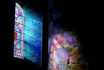 Religion, vitraux & églises