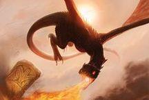 Dragons enchantés / Quand les dragons sont les maîtres du monde.