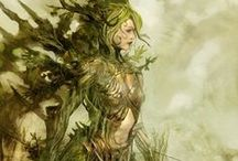 Les hybrides végétals & nature [Personnage] / Et si la nature cachait des personnages...