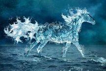 Chevaux fantasistes / Et les chevaux avaient des ailes, étaient constitués d'eau, étaient à demi-humains...