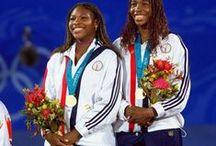 Serena & Venus Williams - Deuce / Sisters & Professional Tennis Players / by Rev. Dr. Dawne A. Casselle, Esq.
