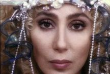 """Cher - (born Cherilyn Sarkisian on May 20, 1946) / American recording artist, television personality, actress, director, record producer and philanthropist. Referred to as the Goddess of Pop, she has won an Academy Award, a Grammy Award, an Emmy Award, three Golden Globes and a Cannes Film Festival Award among others for her work in film, music and television. She is the only person in history to have received all of these awards.""""  / by Rev. Dr. Dawne A. Casselle, Esq."""