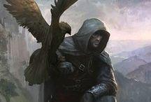 Les fauconniers [Personnage]
