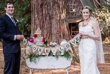 S'more Love...Touched by Time Vintage Rentals / A treat that has been around forever. I remember just the good ole campfire version now there are so many variations. So fun for weddings!!! Enjoy...