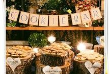 Who stole the cookie from the Cookie Bar!!!Touched by Time Vintage Rentals / Cookies! Cookies! Cookies! A great alternative to the cake so much fun for your guests!!! Touched by Time Vintage Rentals...
