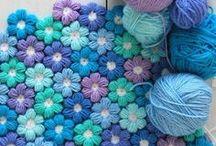 plaids et couvertures au crochet