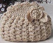 sacs et accessoires au crochet