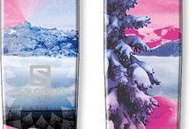 équipement télémark et look de ski