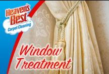 Window Treatments / When you book an appointment with Heaven's Best, you will know everything up front.  We tell you the exact price for the level of service you desire, the exact time we expect to arrive, and the amount of time we expect the job to take. We will give you our honest opinions about the results you can expect regarding soil, stain, and odor removal.  We make promises we can keep and then live up to them.  (920) 467-3239