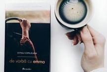 """De vorba cu Emma / Cartea """"De vorbă cu Emma"""" de Vitali Cipileaga, apărută la Editura Bestseller."""