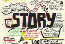 Storytelling / Een product, dienst of concept vertelt in de 21st eeuw een verhaal, waardoor de gebruiker zich ermee verbonden voelt. Het gaat over beleving, maar nog veel meer gaat het over betekenisgeving.