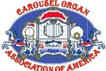 CAROUSEL ORGAN ASSOCIATION OF AMERICA (COAA) / COAA is the premiere and only collector group devoted to carousel organs and crank organs (organ grinders). COAA sponsors 8-11 organ rallies each year throughout the U.S. and publishes the only magazine devoted to outdoor mechanical organs.  For details and more information please go to www.coaa.us or coaaprez@gmail.com / by Angelo Rulli