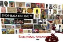SHOP BAIA ONLINE / Shop BAIA Online™  is a place where you can shop and browse for art from our growing network of artists, collectors, estates and galleries. We're developing a place for you to find the best deals on great art and collectibles. www.shopbaiaonline.com