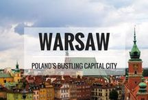 WARSAW, POLAND / A board to share the best snapshots of Warsaw, the capital and largest city of Poland