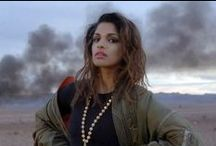 M.I.A. / Beautiful, unique, hypnotic and addictive...bad girls do it well :)