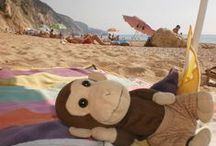 Me and my Monkey on Holiday / Actually it's just the monkey...