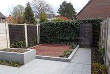 tuinontwerp / voorbeelden van tuinontwerpen