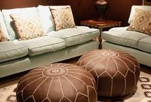 Colour: Luxury Brown Living Room