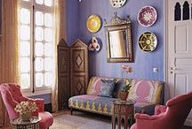 Pink Moroccan Room
