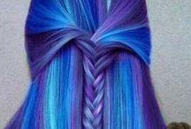 Hair Fantasy Inspiration / Color, Ombré, Fairehair, Mermaid hair ♥ Minha inspiração de cor fantasia e cabelos sereia <3