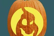 """Boo Crew Pumpkin Carving Patterns / Woo hoo! I love things that go """"Boo!"""" Don't you?"""