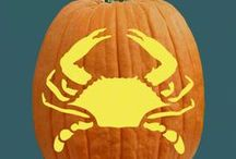 Back to Nature Pumpkin Carving Patterns / Ravens and spiders and bats…oh my! Choose your favorite creature to carve!